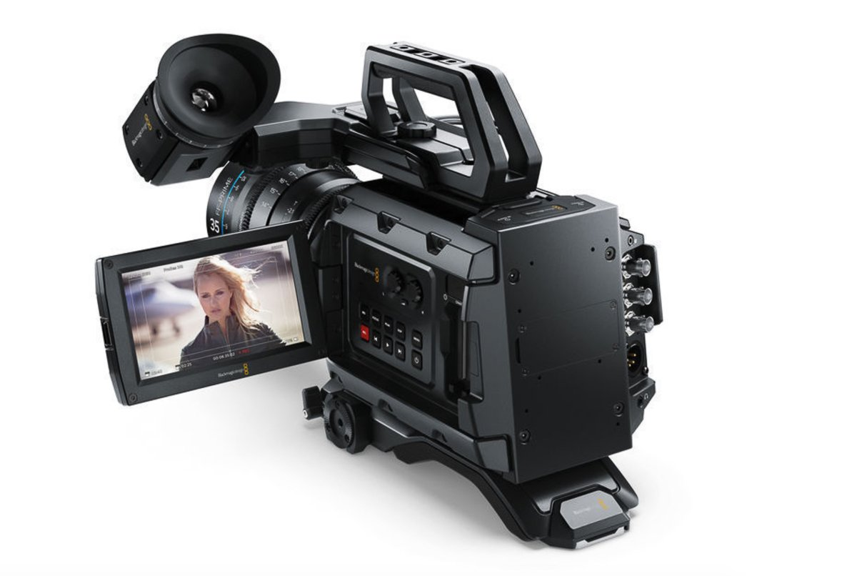 BlackMagic URSA Mini 4.6K for Promotional Video Production London by CineEye