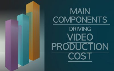 What are the main components driving video production costs?