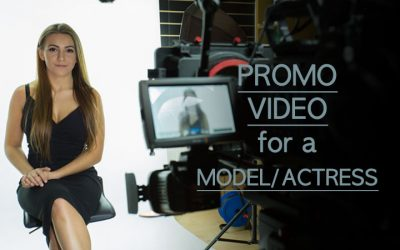 Behind the Scenes of Model/Actress Sara Parker Promotional Video Production