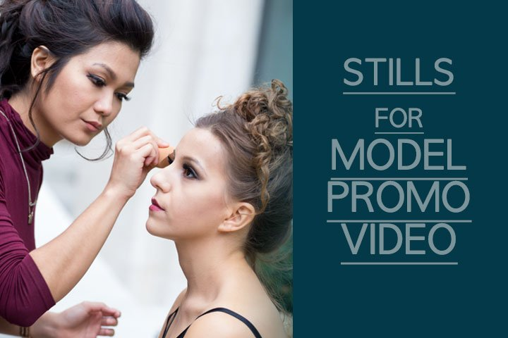 Still Photography for Model/Actress Sara Parker Promotional Video Production London
