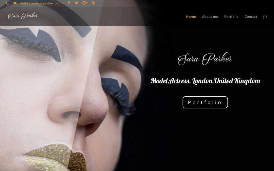 Model Website Design by CineEye