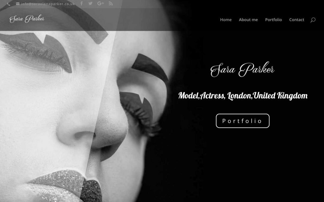 Blog post featured image Model website design by CIneEye bw