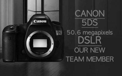 Canon 5DS 50.6 megapixel DSLR