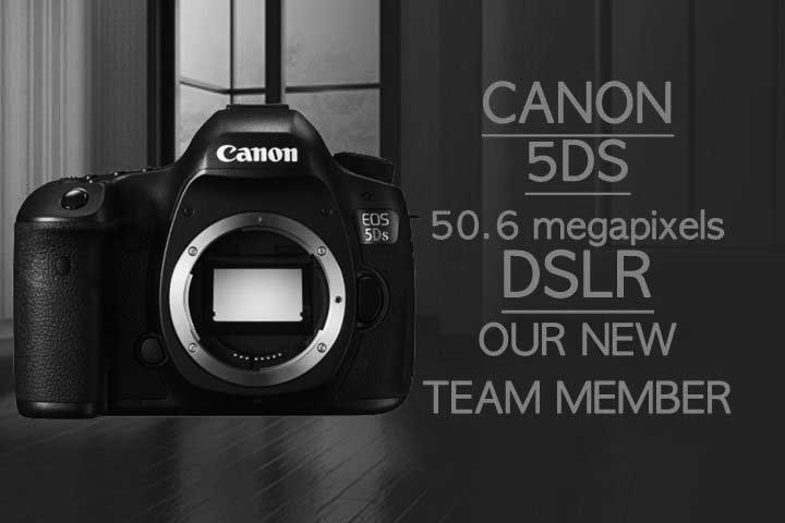 CANON 5DS DSLR camera new team member bw blog post featured image cineeye