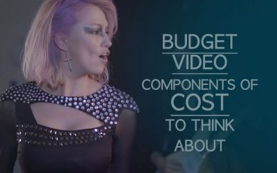 Budget Music Video: Some Components of Cost To Think About